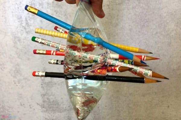 Leakproof Bag Lots of Pencils