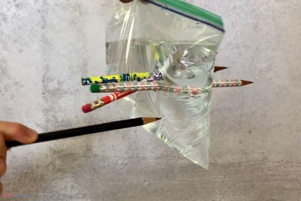 Leakproof Bag Pencil Poking