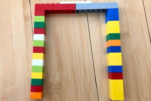 Lego Magnet Bridge