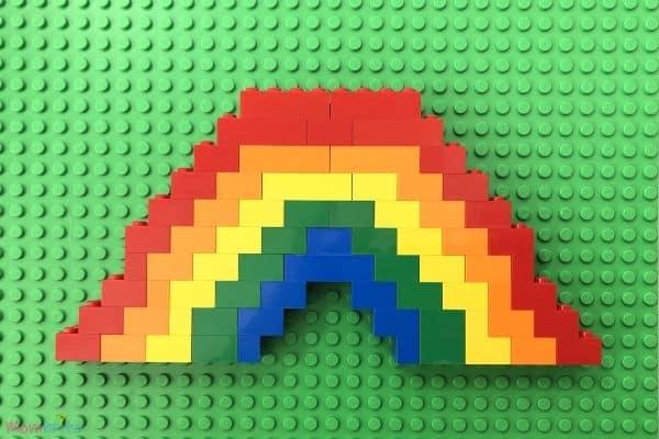 Lego Rainbow 5 Colors