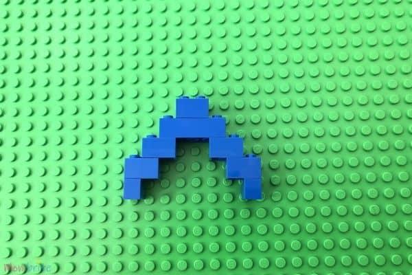Lego Rainbow Blue Arc