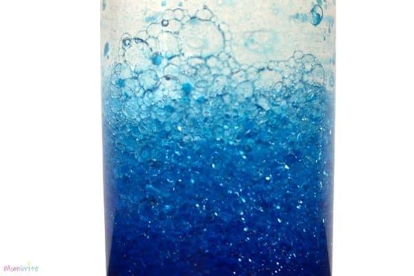 Ocean in a Bottle Bubbles