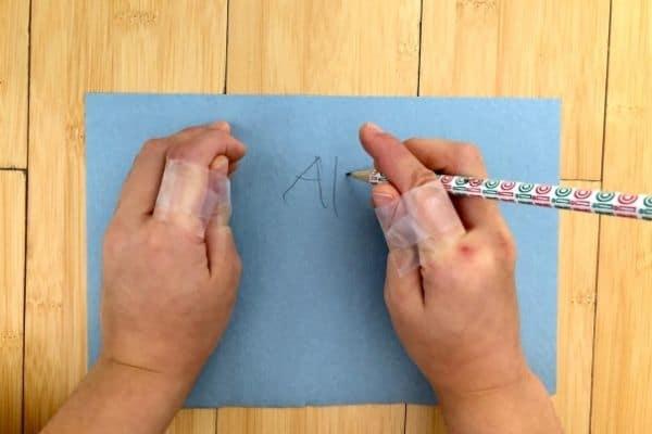 Opposable Thumbs Write Name