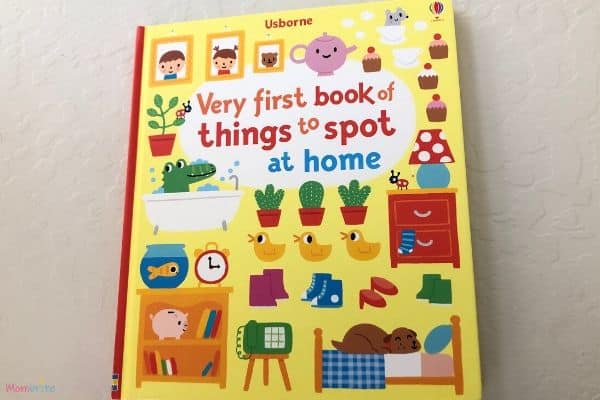 Usborne Very First Book of Things to Spot at Home Cover