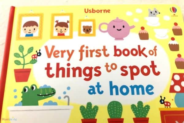 Very First Book of Things to Spot at Home Cover Closeup