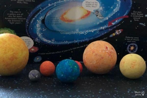 3D Solar Model Balls