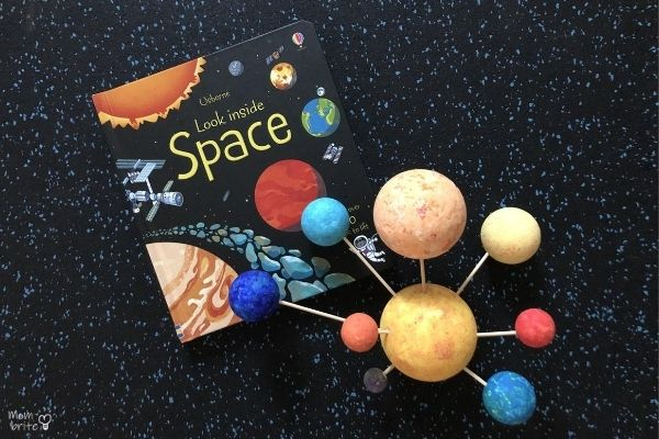 3D Solar Model with Look Inside Space