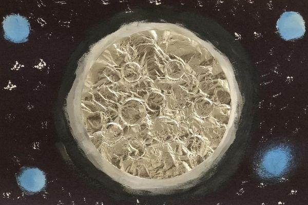Aluminum Foil Cold Moon Glow Stars
