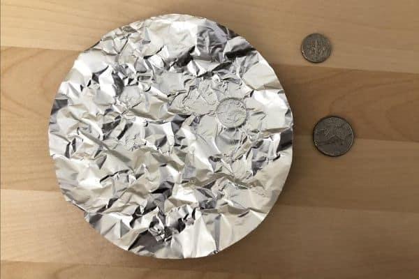 Aluminum Foil Moon Coins