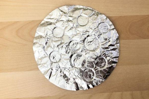 Aluminum Foil Moon Craters