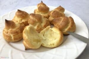 Choux Pastry Science Hollow Out Center
