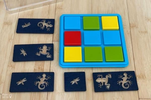 Color Catch Smart Games Pieces