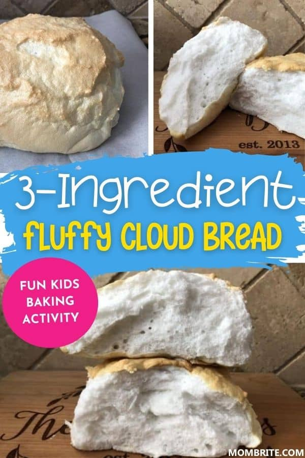 Fluffy Cloud Bread Pin