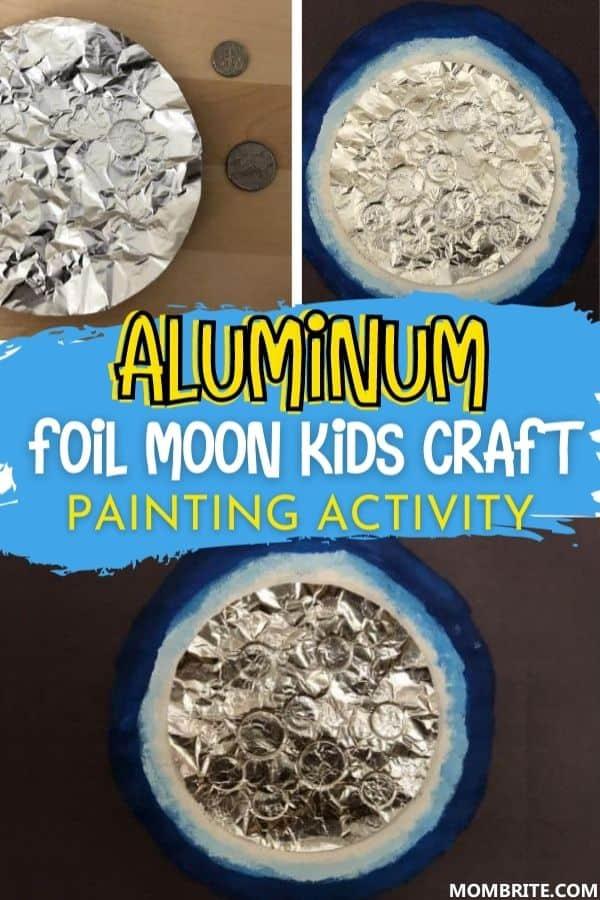 Foil Moon Pin
