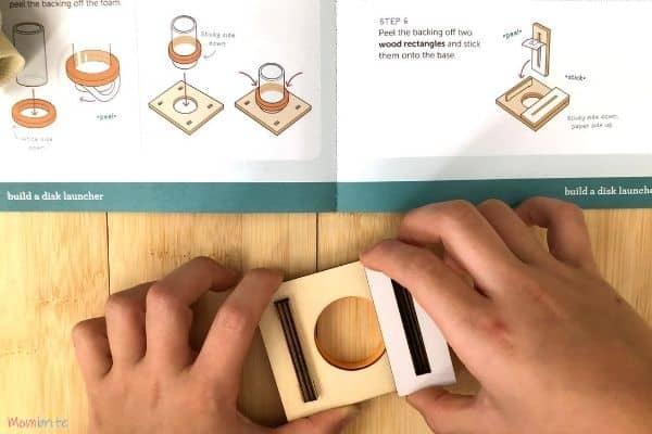Kiwi Crate Building Disc Launcher