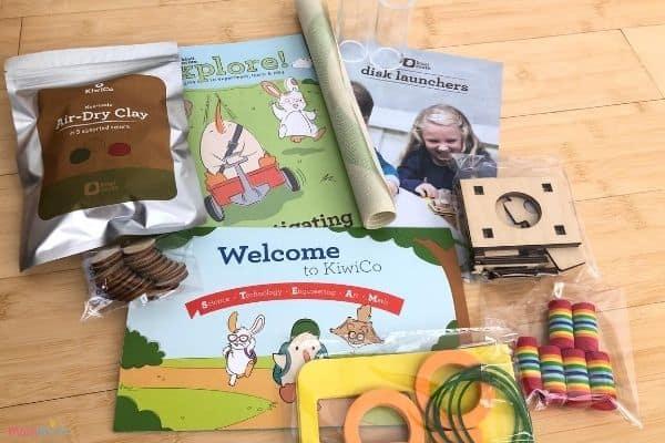 Kiwi Crate Contents