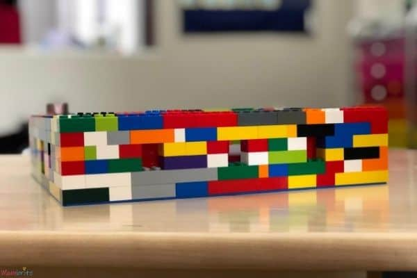 LEGO Moon Phase Box Observation Holes