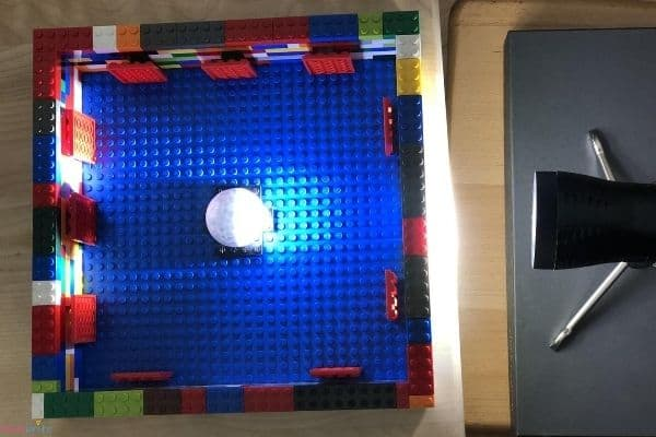 LEGO Moon Phase Science Experiment Light