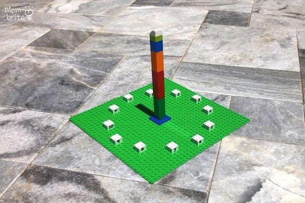 LEGO Sundial Outdoor 12PM