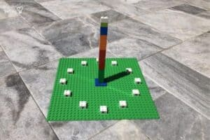 LEGO Sundial Outdoor 2PM