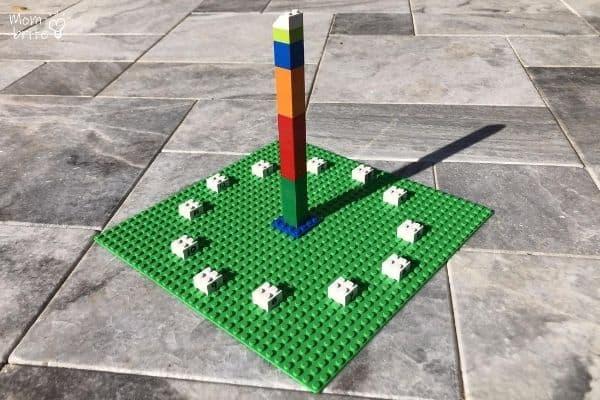 LEGO Sundial Outdoor