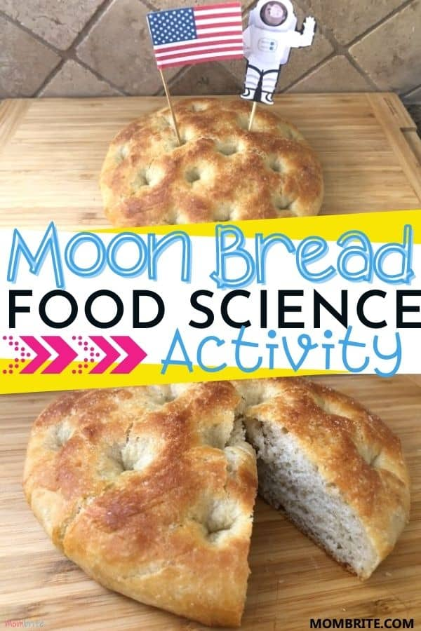Moon Bread Science Pin