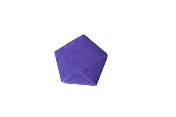Origami Lucky Star Fold End Tuck