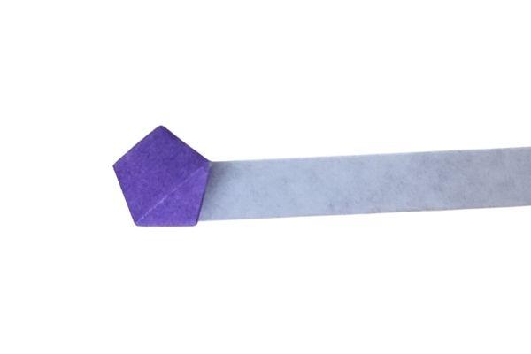 Origami Lucky Star Fold Strip