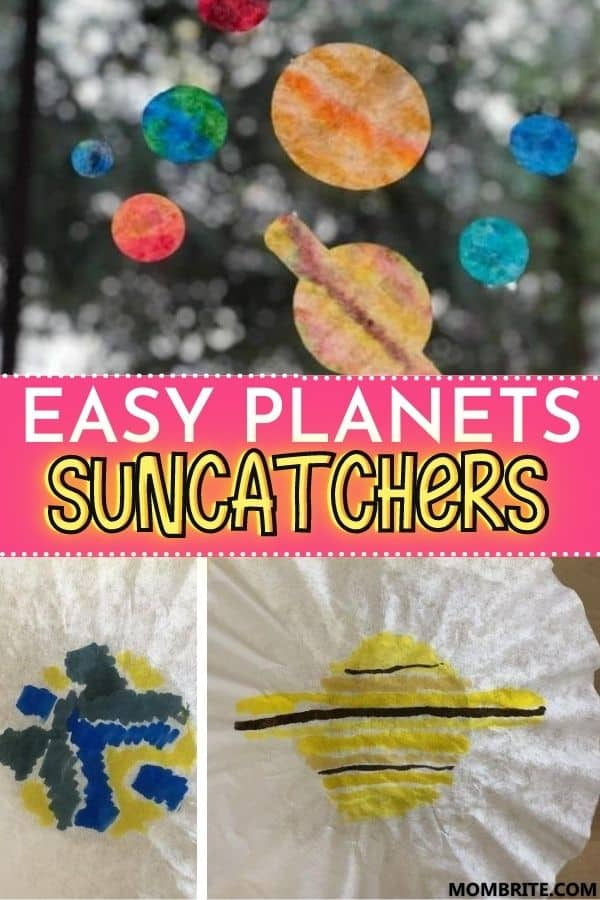 Planet Suncatchers Pin