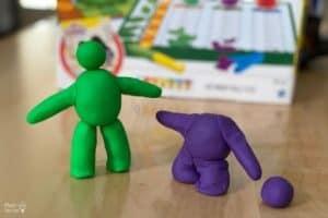 Play-Doh Comparing Bones