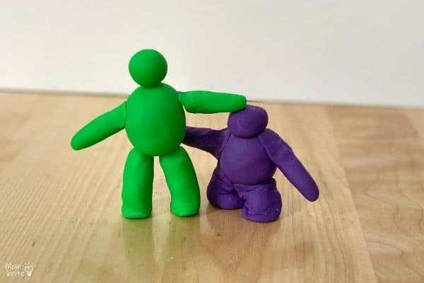Play-Doh Tall and Short