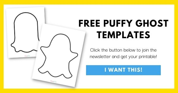 Puffy Ghost Template Email List Opt-In