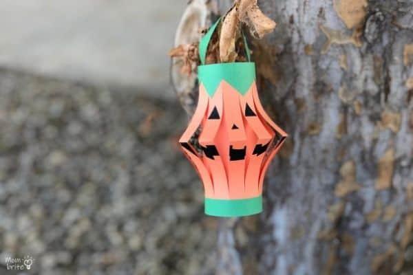 Pumpkin Lantern Hanging