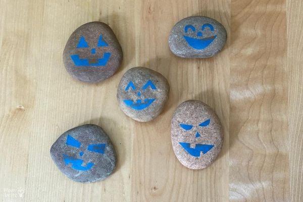 Pumpkin-Rock-Painters-Tape