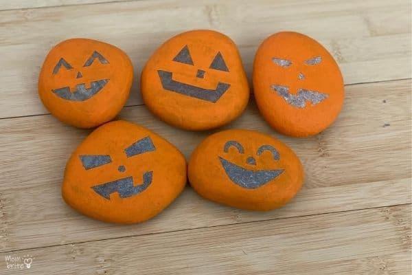 Pumpkin Rocks Tape Off