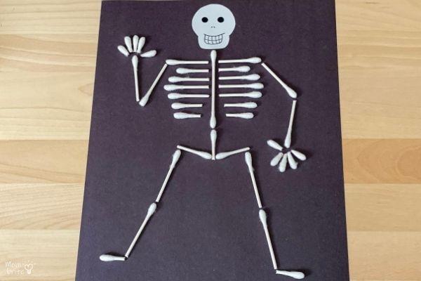 QTip Skeleton on Desk
