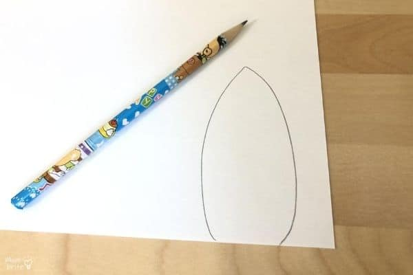 Toilet Paper Turkey Craft Feather Template