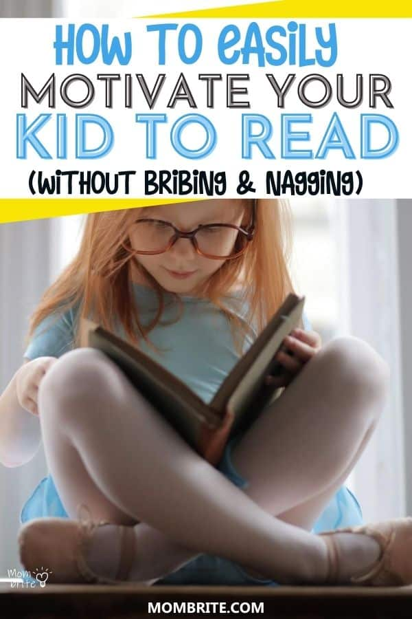 how to motivate your kid to read pin