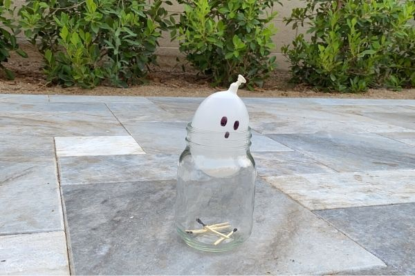 Balloon in a Bottle Experiment Ghost Sucked In