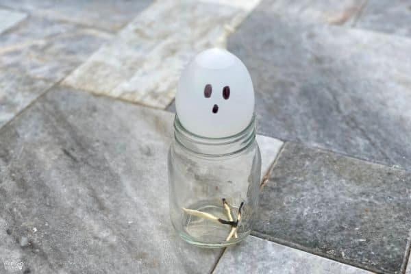 Balloon in a Bottle Experiment Ghost