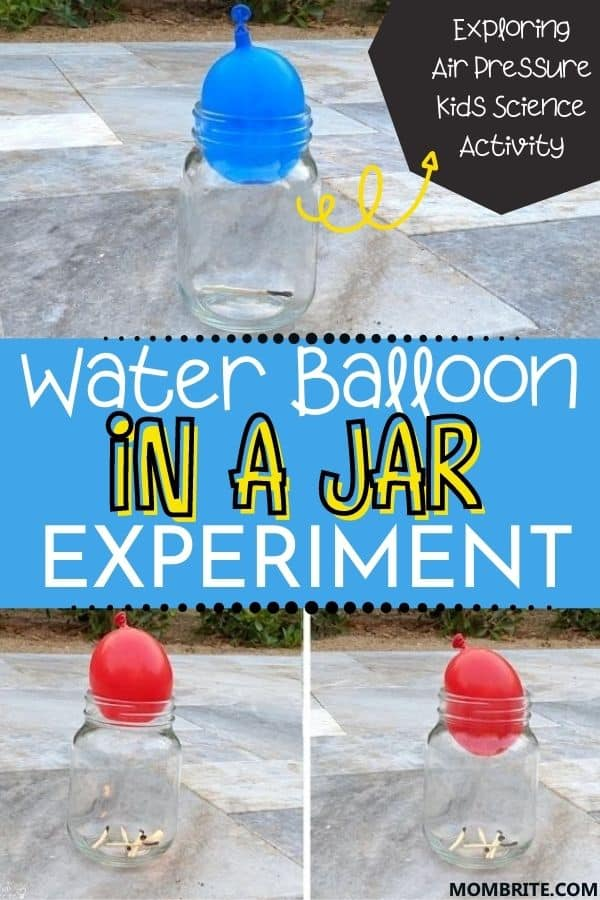 Balloon in a Jar Pin