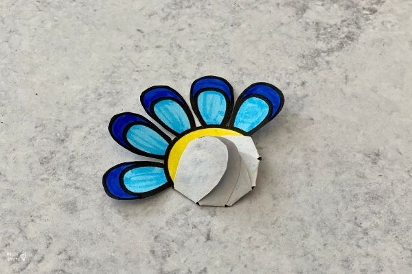 Blooming Paper Flowers Fold