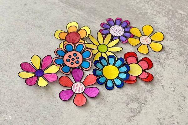 Blooming Paper Flowers