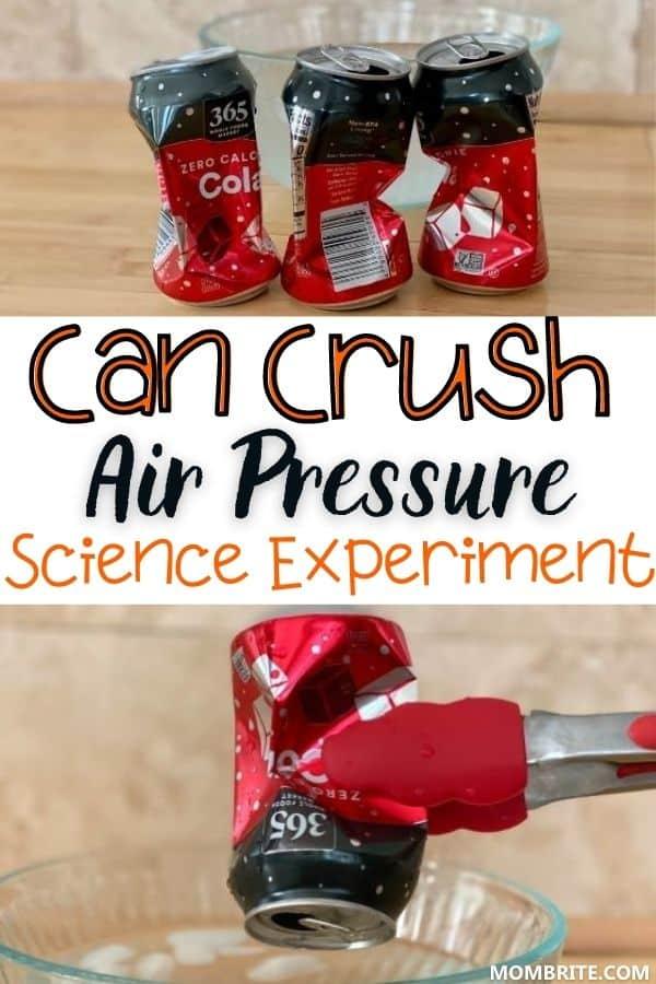Can Crush Air Pressure Experiment Pin