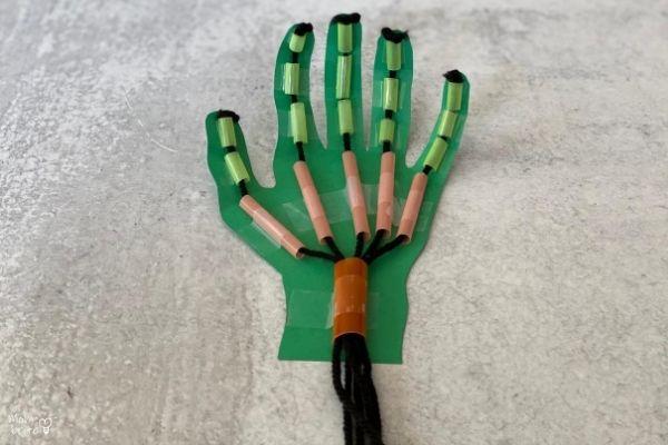 DIY Robot Hand Fingers