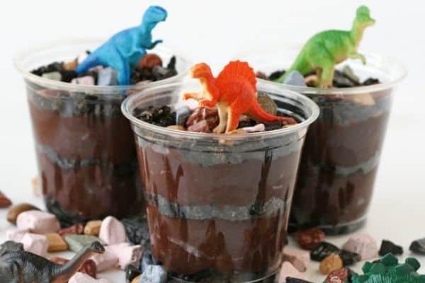 Dinosaur Chocolate Cups