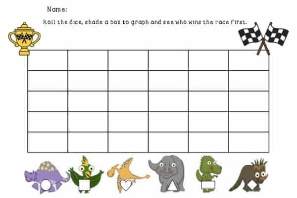 Dinosaur Graphing Game