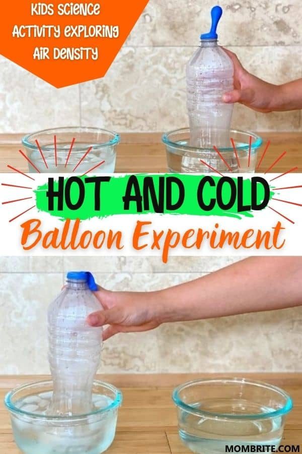 Hot and Cold Balloon Experiment Pin
