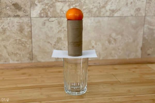 Inertia Experiment Setup