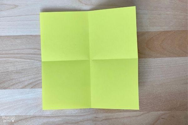 Origami Fortune Teller Fold (1)
